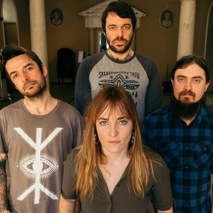 Topping our list of up-and-coming Irish musicians is Lankum.