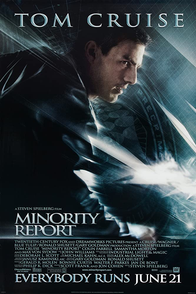 Minority Report is another of the best Colin Farrell movies.