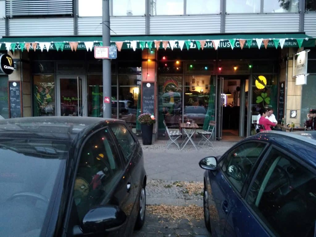 Molly Malone's is one of the best Irish pubs in Berlin.