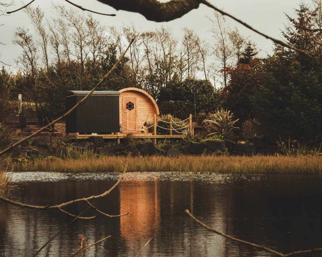 The Pod by the Pond is one of the most unique Airbnbs in Northern Ireland.