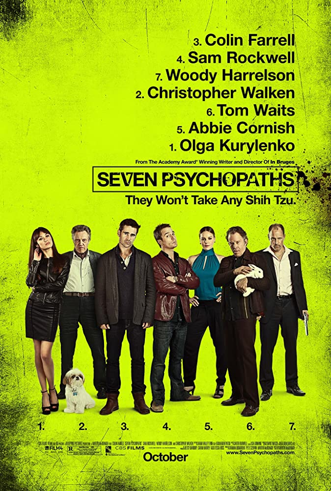 Seven Pyschopaths is yet another of the top Colin Farrell movies.
