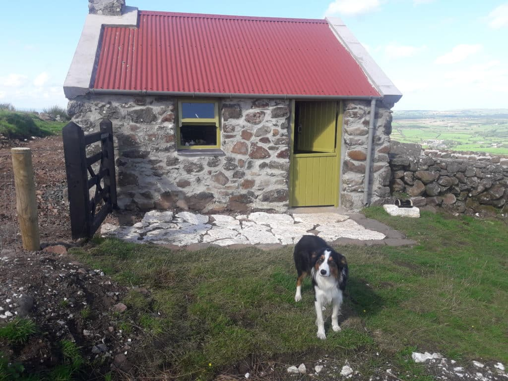 The Shepherd's Hut is perfect for a digital detox in the mountains.