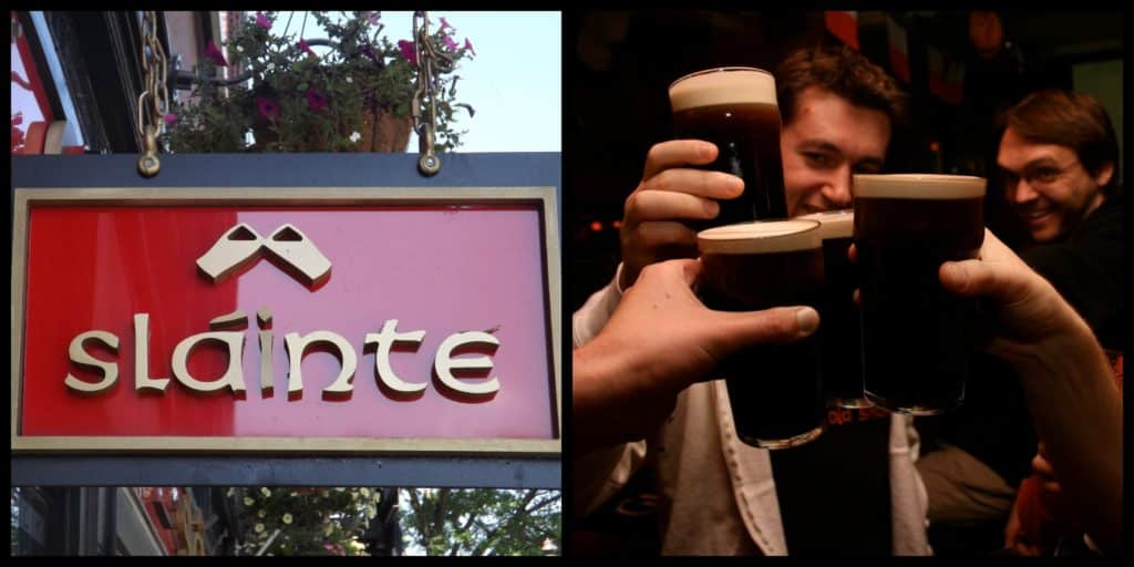 Slainte meaning, pronunciation, and when to say it.
