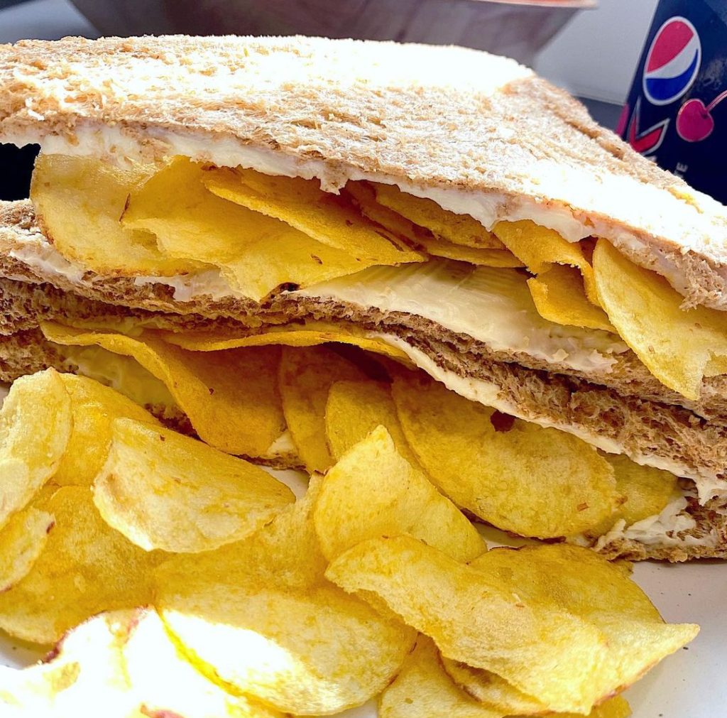 Crisp sandwiches are a taste sensation.