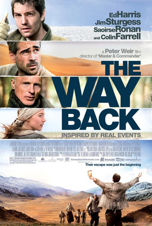 You need to watch The Way Back, starring many Irish actors.