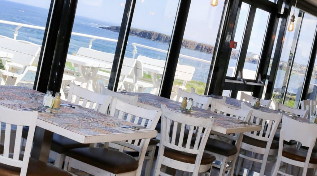 Another of the top restaurants with a view in Northern Ireland has got to be Tides, Portrush.