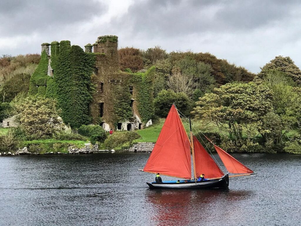 Sail in a traditional Galway Hooker.