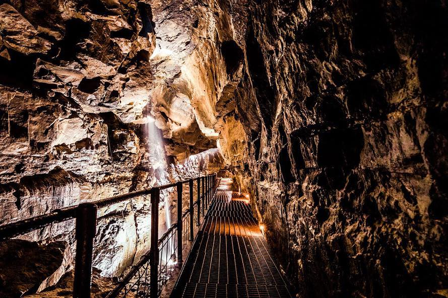 The Ailwee Caves is one of the best things to do in Clare.