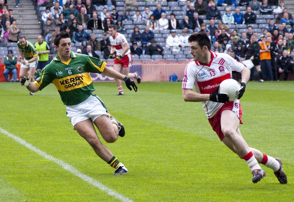 GAA player Aiden O'Mahony.