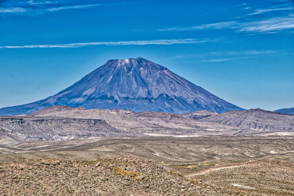 Hike a volcano.