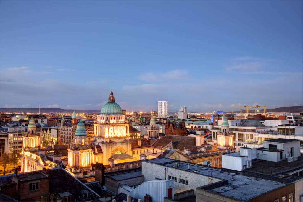 Make sure you visit Belfast in your Ireland road trip itinerary.