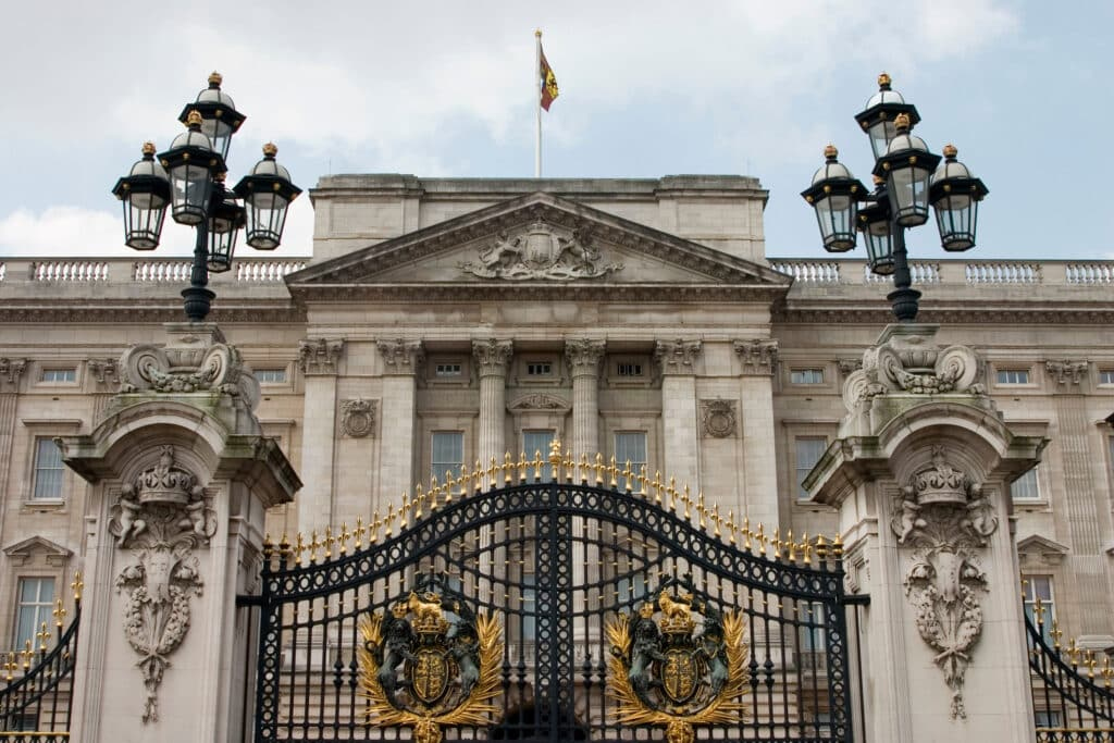 Next up on our bucket list ideas is Buckingham Palace.