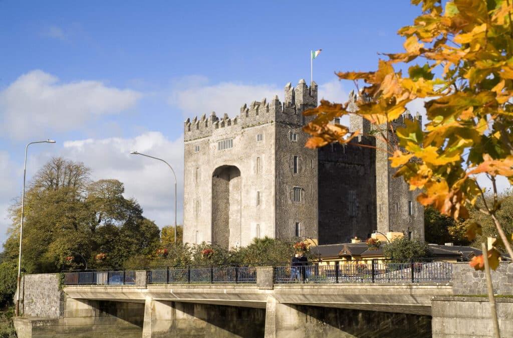 Visit Bunratty Castle and Folk Village.