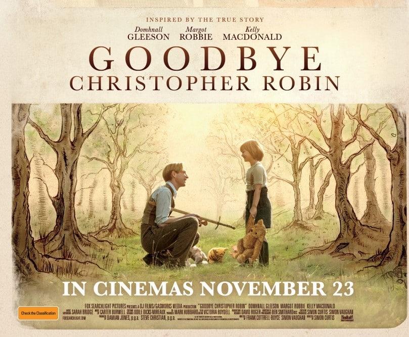 Goodbye Christopher Robin is a tear-jerker.