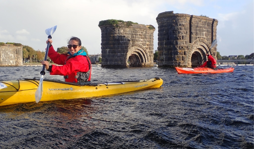 Kayaking is one of the most unique things to do in Galway.