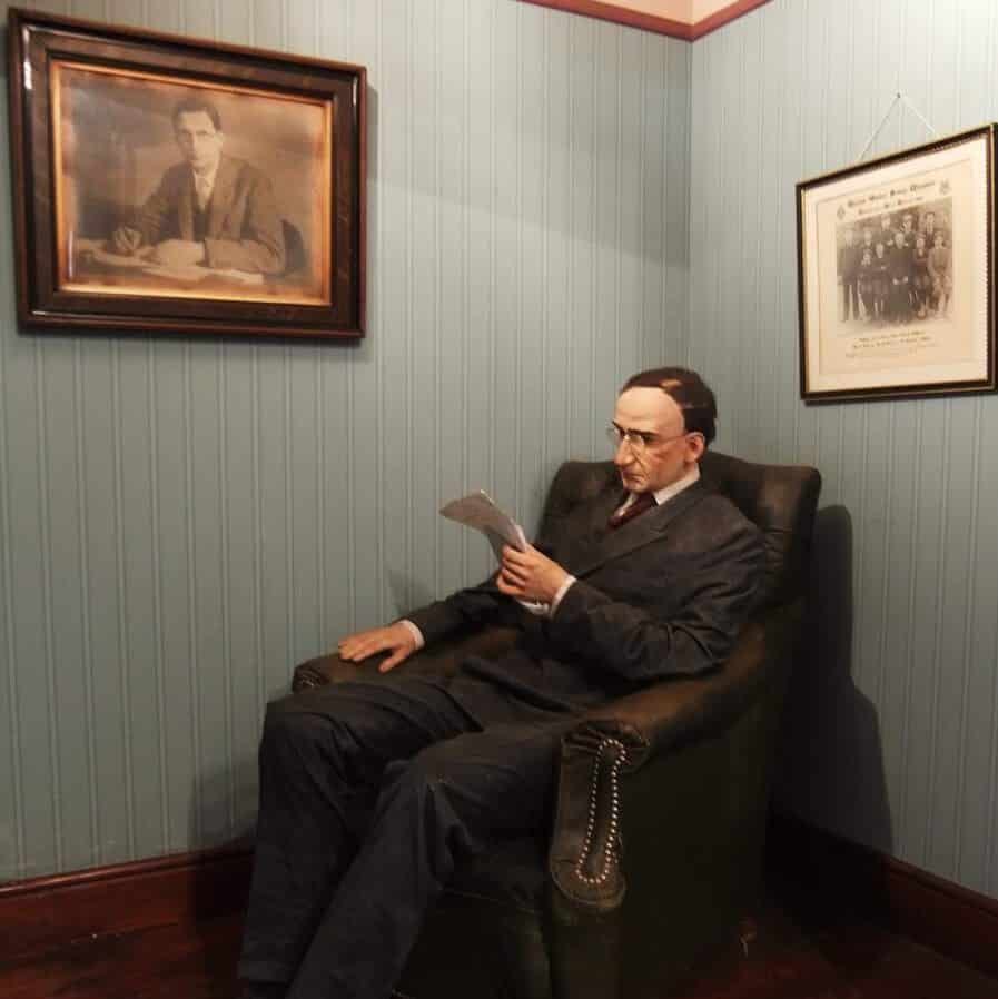 Éamon de Valera was one of the most influential presidents of Ireland.