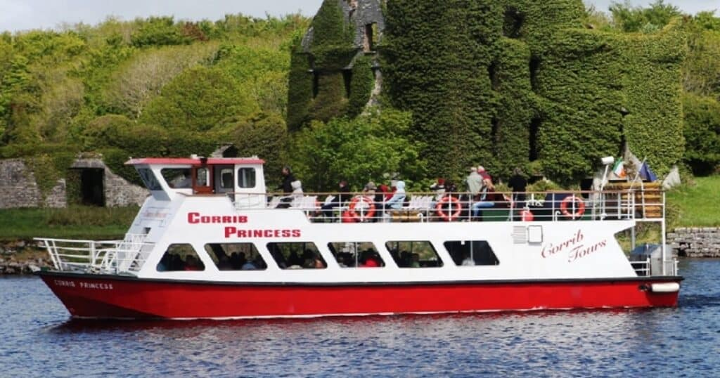 One of the most unique things to do in Galway is a cruise on the Corrib River.