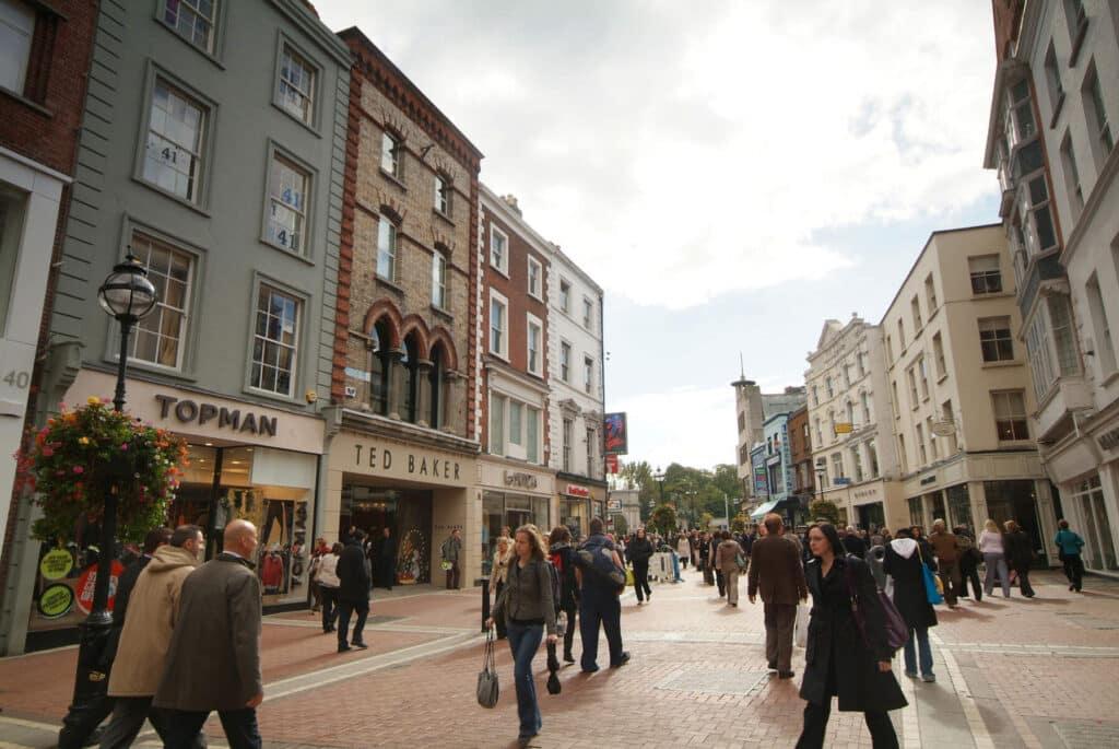 Start in Dublin.