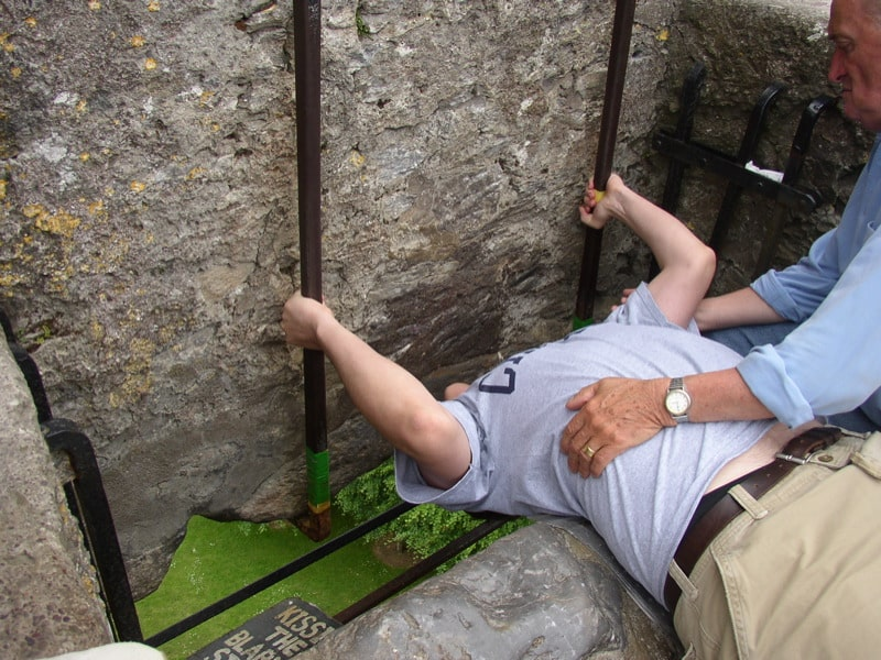 Kissing the Blarney Stone has to be on our list of bucket list ideas.