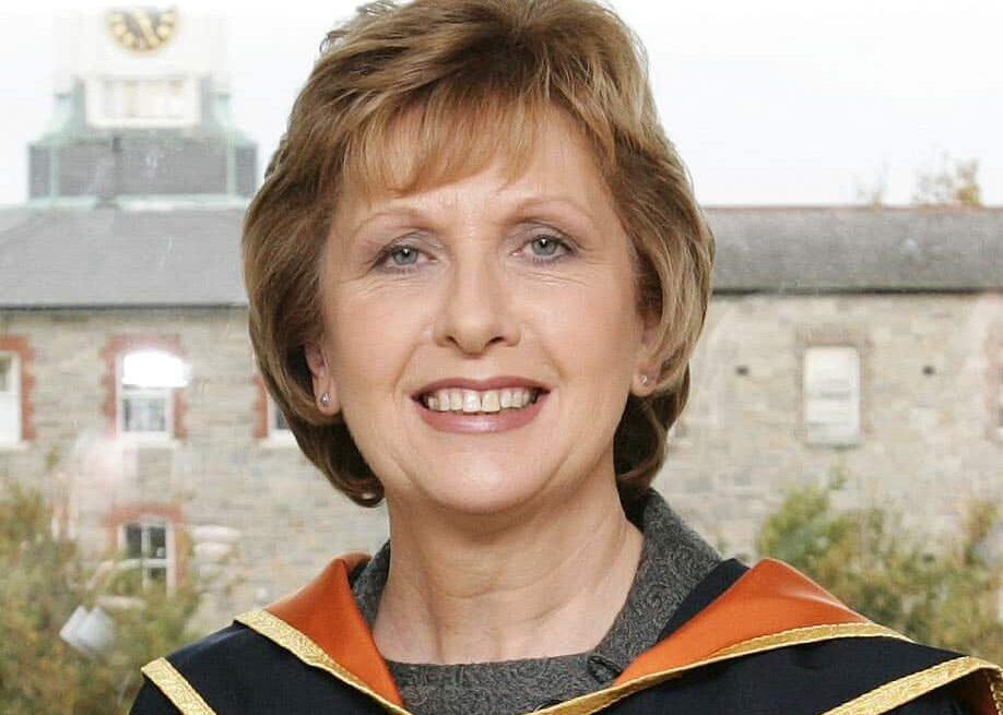 Mary McAleese was the eighth president of Ireland.