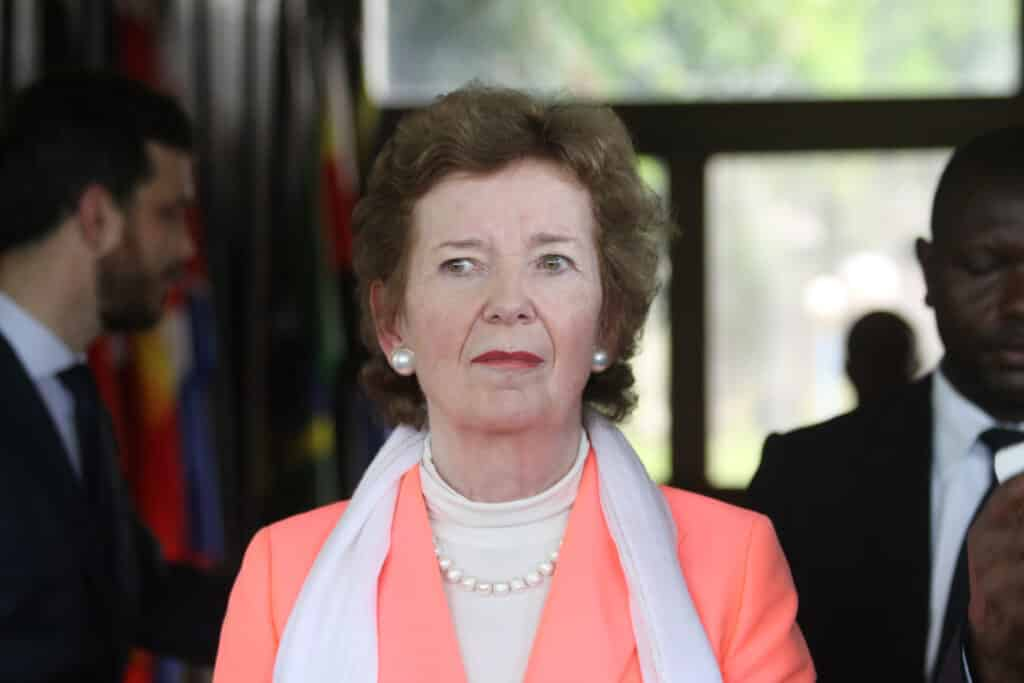 Presidents of Ireland includes Mary Robinson.