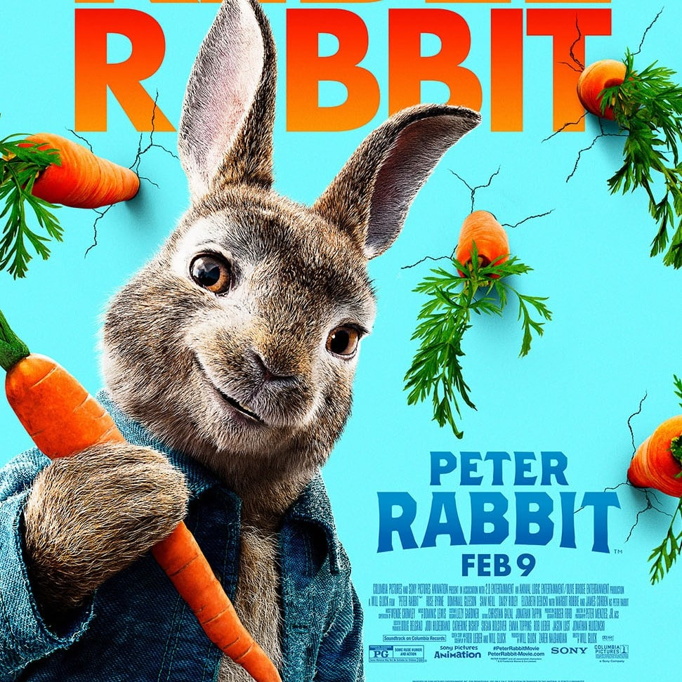 Peter Rabbit is a family favourite.