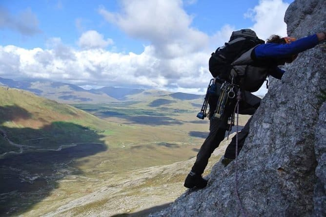 First up on our top ten unique things to do in Galway is rock climbing and abseiling.