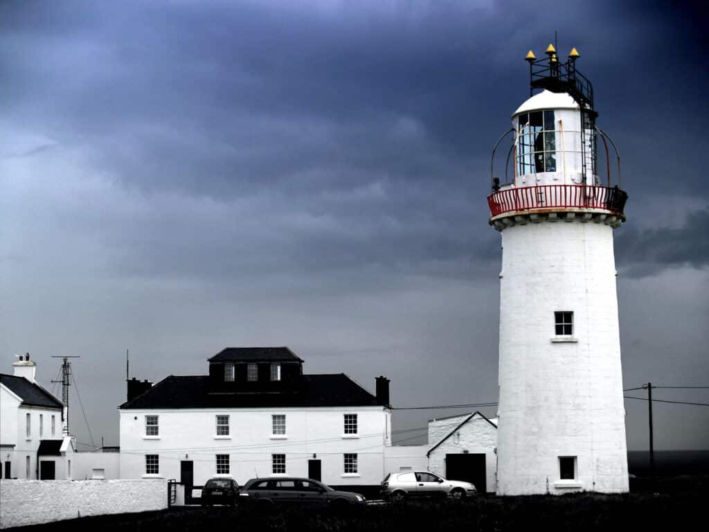 Scenic views at Loop Head and Lighthouse.