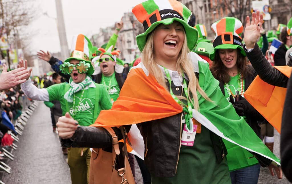 Experiencing St. Patrick's Day in Ireland is one of the top bucket list ideas.