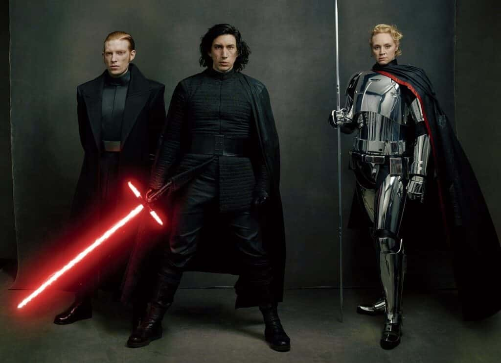 Some of the best Domhnall Gleeson movies are the Star Wars films.
