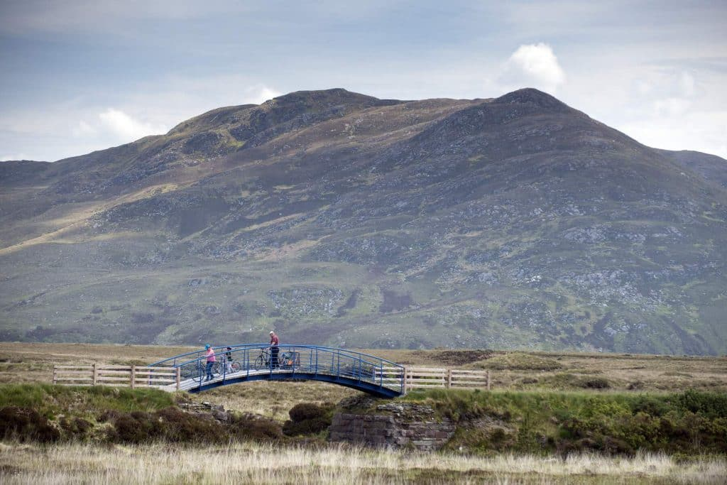 The Great Western Greenway is one of the best things to do in Ireland with kids.