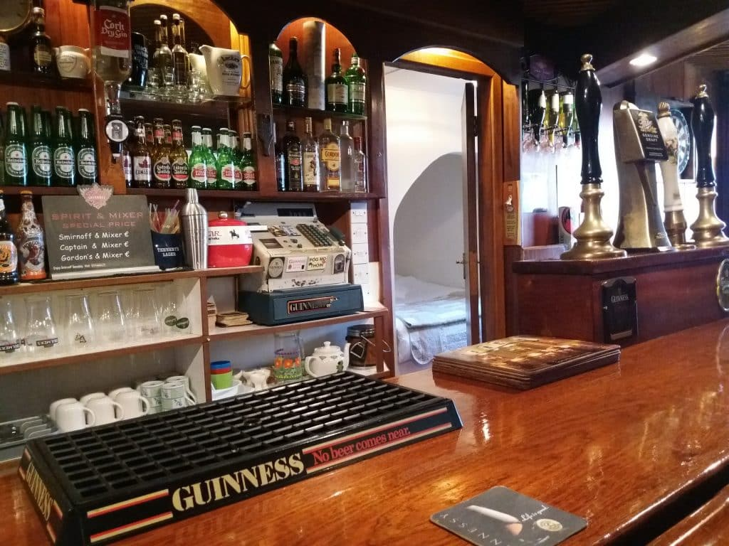 You can rent an entire Irish pub on Airbnb.
