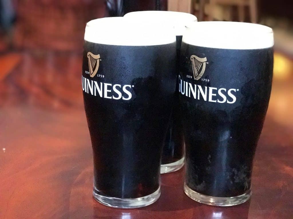 The black stuff is very popular in Ireland.