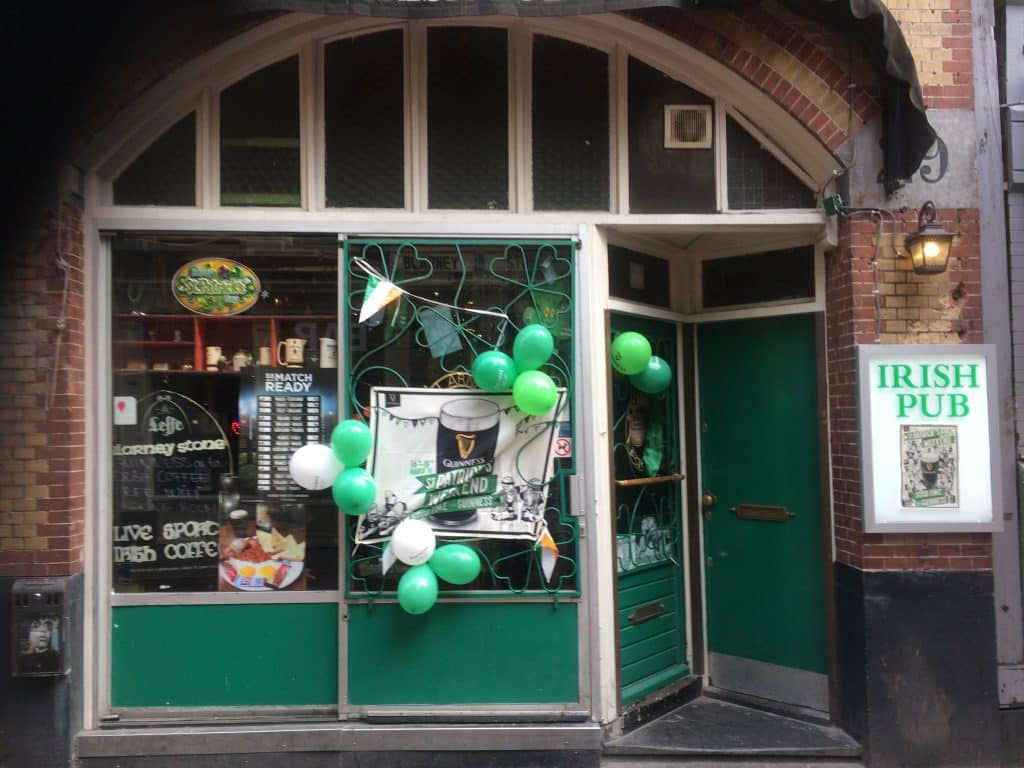 The Blarney Stone is one of the best Irish Pubs in Amsterdam.