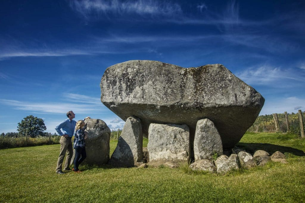 The dolmen county is one of the nicknames for the 32 counties of Ireland.