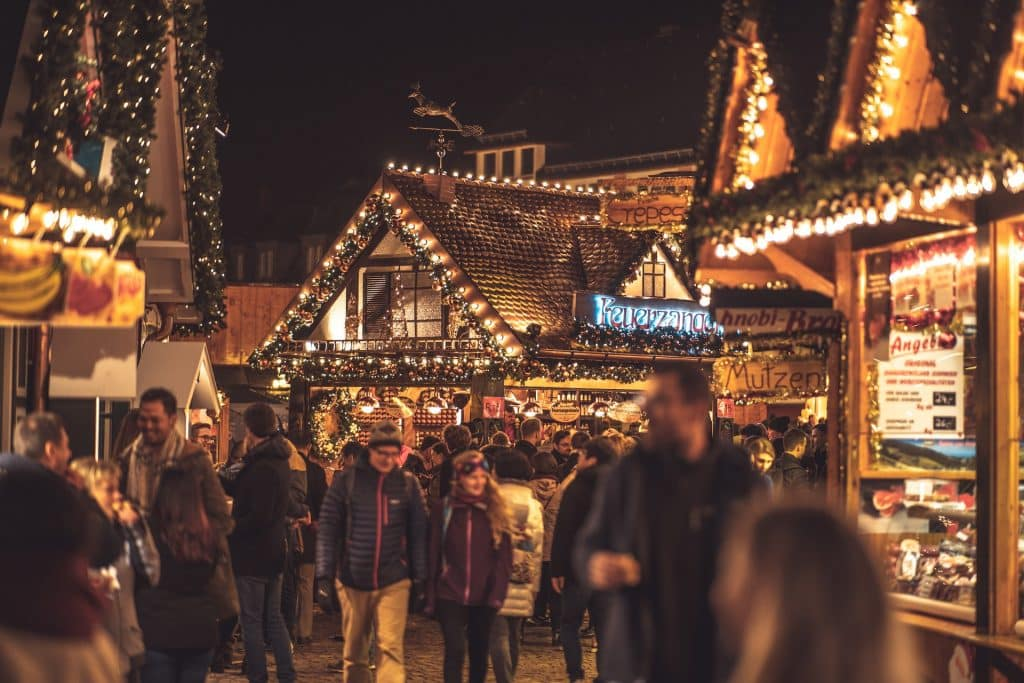 Guinness Storehouse Christmas Market is a must-visit.