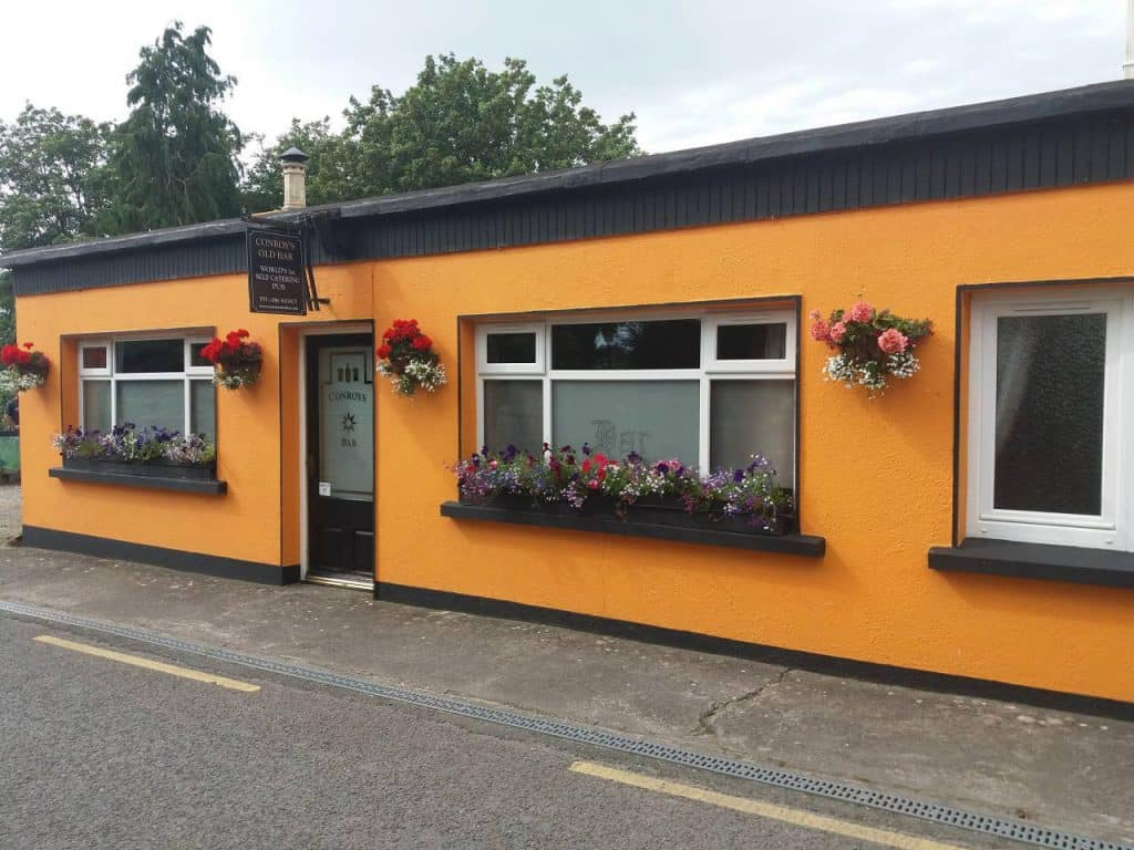 You can rent an entire Irish pub on Airbnb in Tipperary.