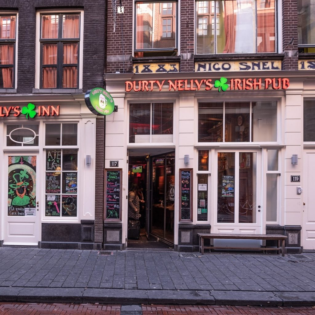 Durty Nelly's is one of the best Irish pubs in Amsterdam.