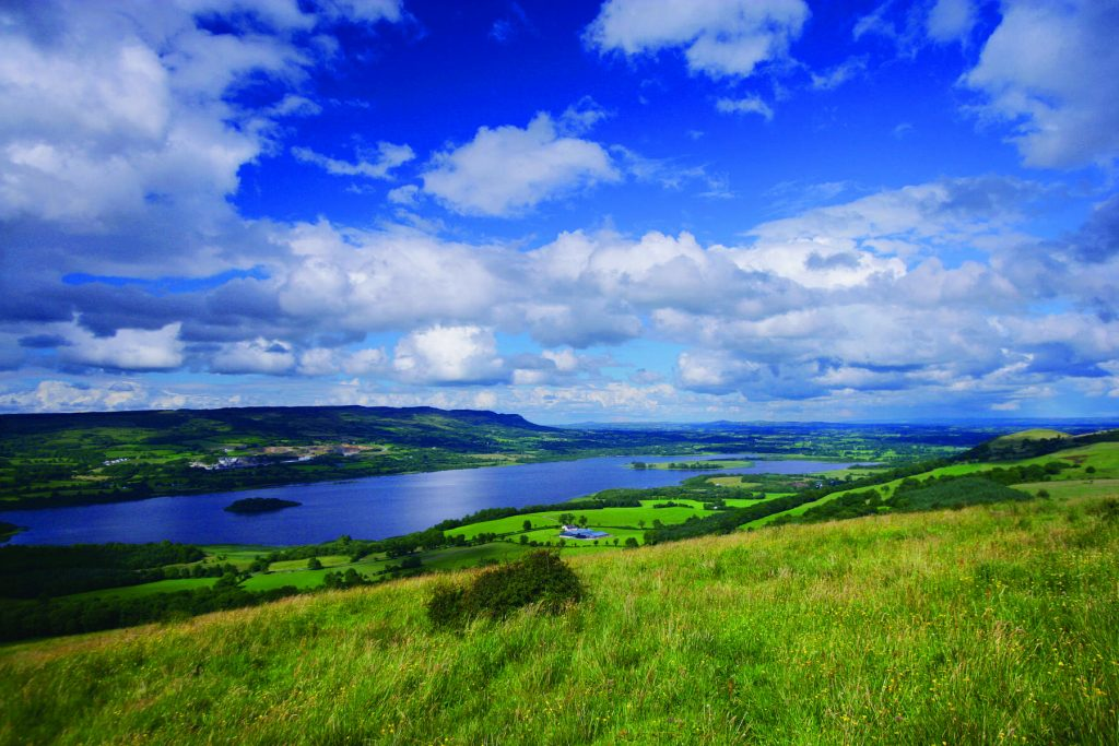 Fermanagh is the lakeland county.