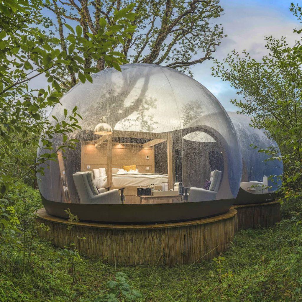When to visit Finn Lough Bubble Dome.