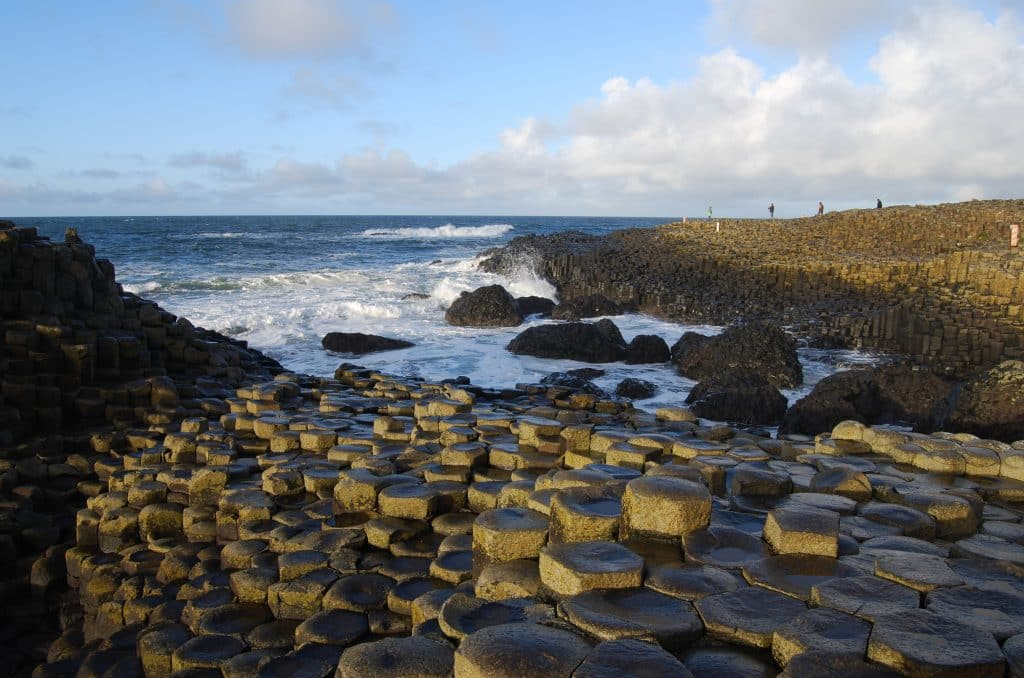 The Giant's Causeway is one of the best scenic walks in Northern Ireland.