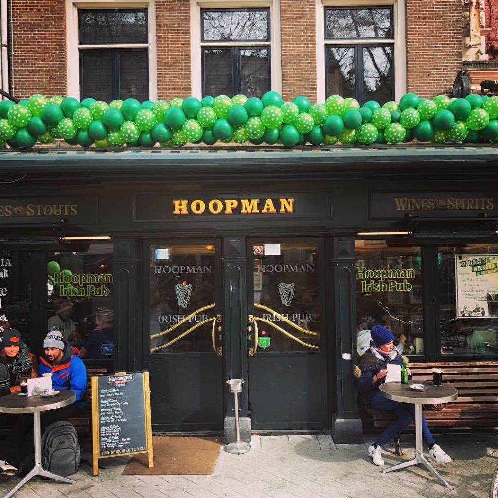 Hoopman is one of the best Irish pubs in Amsterdam.