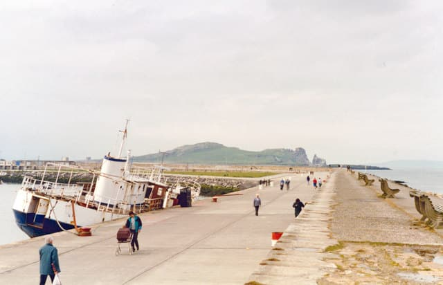 Take a stroll around Howth Harbour after visiting Howth Market.