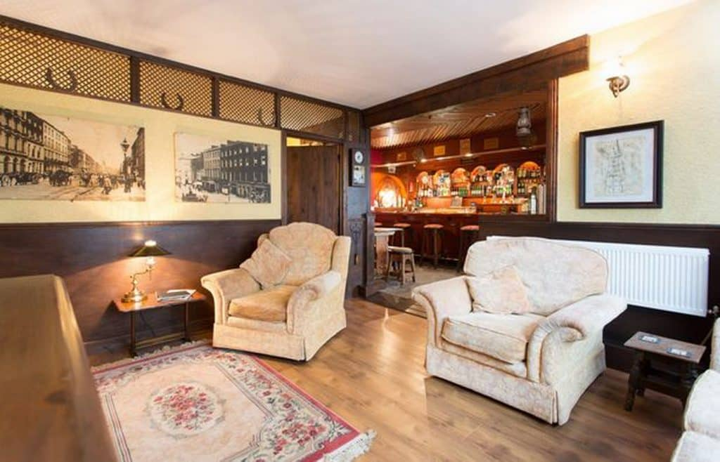 This Irish pub is available to rent on Airbnb.