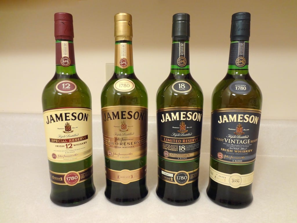 Irish whiskey is the best in the world.