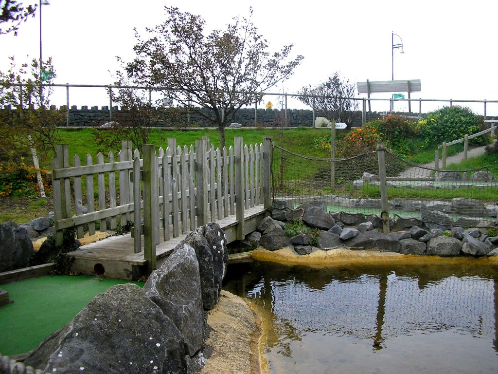 Leisureland is one of the best spots for crazy golf in Galway.