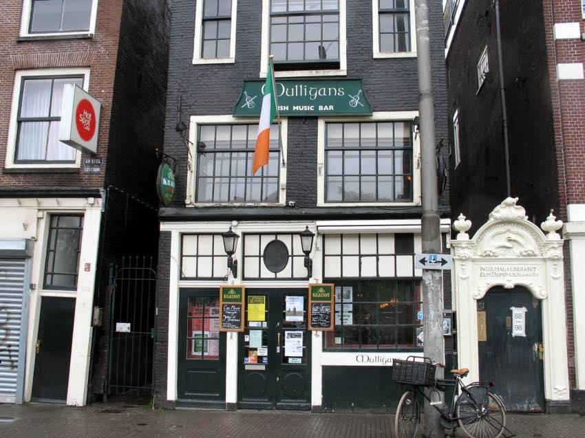 Mulligan's is a great Irish pub.