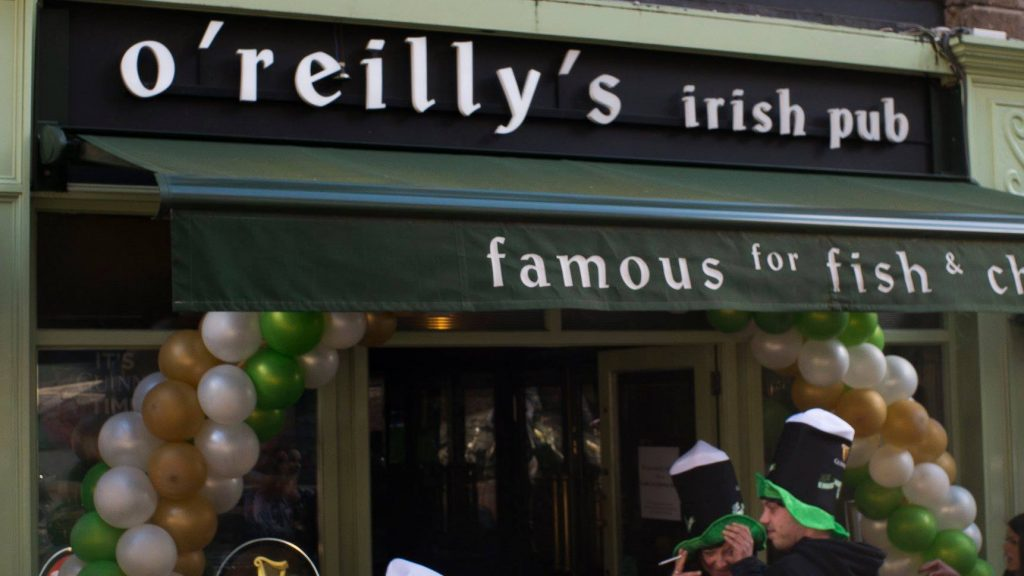 O'Reilly's is a top spot for food-loving pub-goers.
