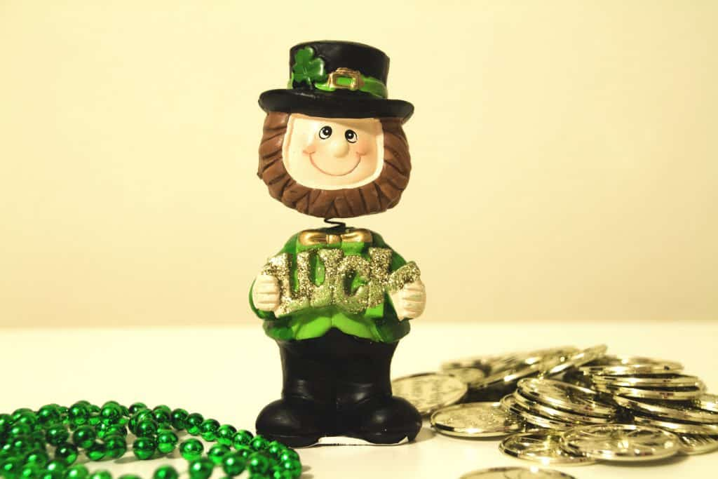 Irish luck is one of the strange Irish superstitions.