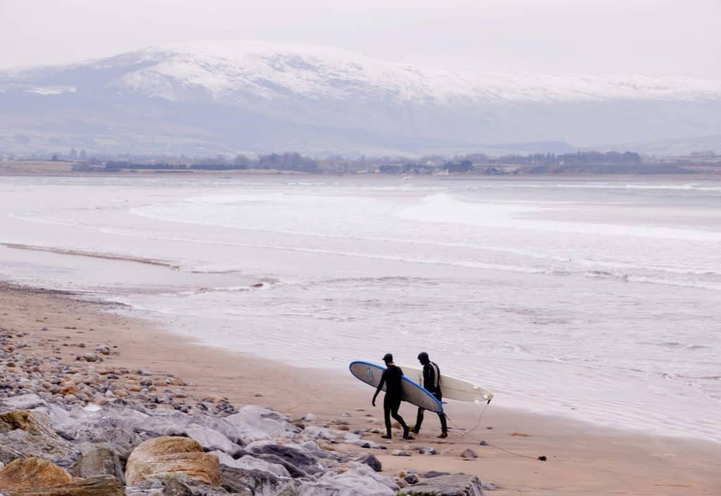 Strandhill is one of the best surfing spots in Ireland.